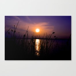 About Last Night Canvas Print