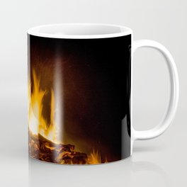 Fire flames Coffee Mug