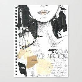 2014 Sketch Book Series #001 Canvas Print