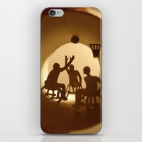 basketball iPhone & iPod Skins featuring Basketball by Anastassia Elias