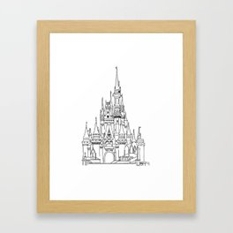 Disney / Castle Framed Art Print