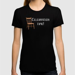 Jewish Wedding Celebration Time Wedding Chair T-shirt