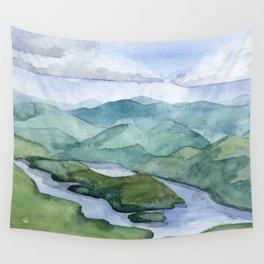 Lake Placid Wall Tapestry