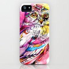 Neon Northern Pygmy Owl Slim Case iPhone (5, 5s)