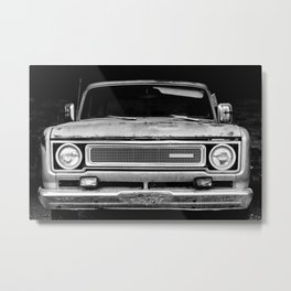 Garage Beauty Metal Print