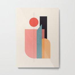 Geometric Shapes 76 Metal Print