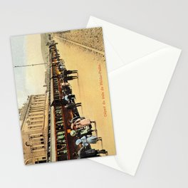 1900s Haydarpasa railroad station, train Stationery Cards