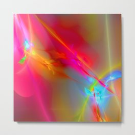 abstract lighteffects -13- Metal Print