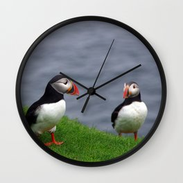 Puffin III Wall Clock