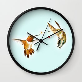 Humming Together Wall Clock