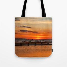 Sunset Seascape Tote Bag