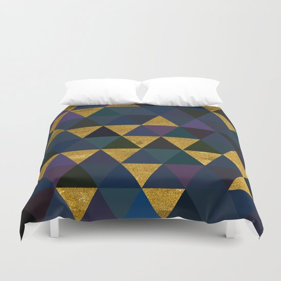 Abstract #318 Duvet Cover