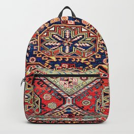 Kuba Sumakh East Caucasus Antique Rug Backpack