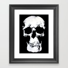 Sherlock Why Do You Have a Skull on Your Wall? Framed Art Print