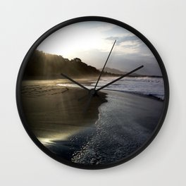 Sunrise Beach Wall Clock