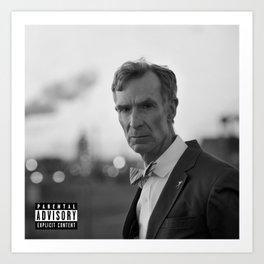 Bill Nye - Climate Change Art Print