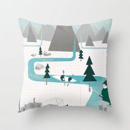 I like water Throw Pillow
