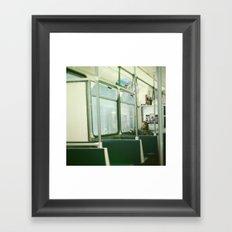 Train Tramp Framed Art Print