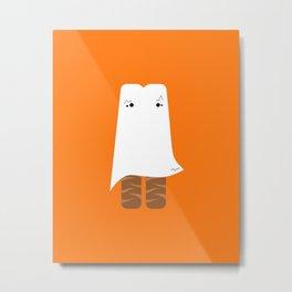 Ghost Twix - Halloween party Metal Print
