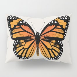 Monarch Butterfly Pillow Sham
