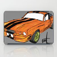 mustang iPad Cases featuring Mustang by Portugal Design Lab