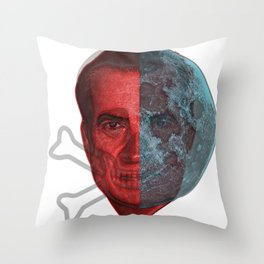Shadow Nixon! Throw Pillow