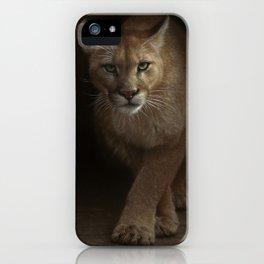 Cougar - Emergence iPhone Case