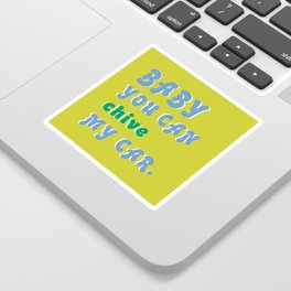 Beep Beep Sticker