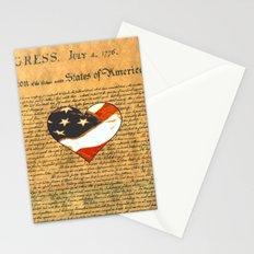 Happy Birthday America Stationery Cards