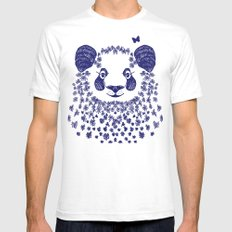 PANDa Mens Fitted Tee SMALL White