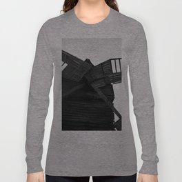 Wooden Windmill Long Sleeve T-shirt