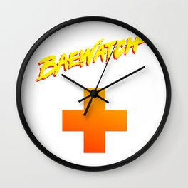 Bae-Watch Wall Clock