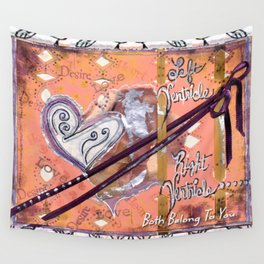Both Belong To You Wall Tapestry