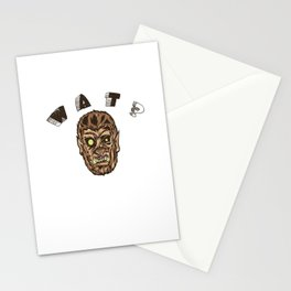 Werewolf's Daze Stationery Cards