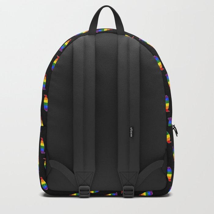 LGBT Pride Penguin Backpack