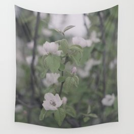 Apple quince flower Wall Tapestry