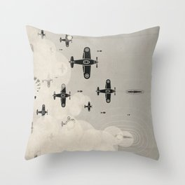 Battle of Untitled Throw Pillow