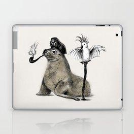 Pirate // seal parrot Laptop & iPad Skin