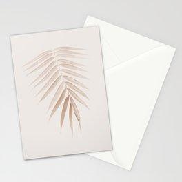 Palm Leaf Finesse #1 #minimal #tropical #decor #art #society6 Stationery Cards