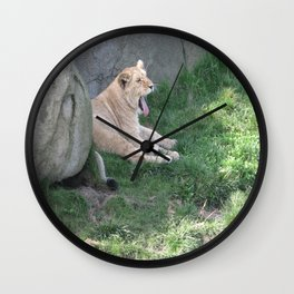 I'm sleepy yaaawn Wall Clock
