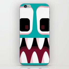 Bubble Beasts: Fang Flosser iPhone Skin