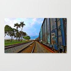 Planes, Trains, but no Automoblies Canvas Print