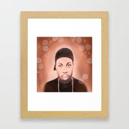 Portraits of Hip Hop - J Dilla Tribute Framed Art Print