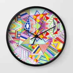 CIRCUS -C A N D Y- POP Wall Clock