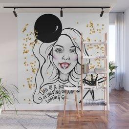 #STUKGIRL MONICA Wall Mural