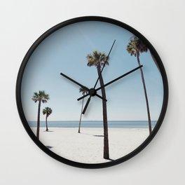 Palm trees 7 Wall Clock