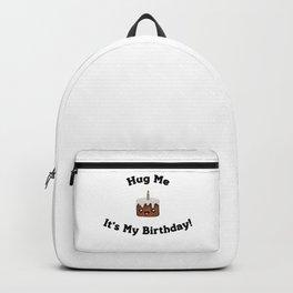 Birthday Hugs (Chocolate Cake) Backpack