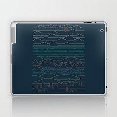 Linear Landscape Laptop & iPad Skin