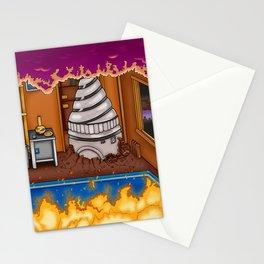 Arcade Slice Stationery Cards