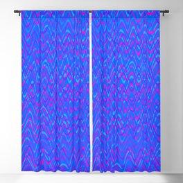 color waves 3 Blackout Curtain